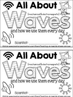 This 45-page science mini-book was created to help teach the Next Generation Science Standards for 4th grade 4-PSR (Waves and their applications in technology for information transfer), but it could also be used with 5th or 6th graders because I added some additional information beyond the standard.This mini-book covers the following principles: what is a wave, what are mechanical waves, sound waves, water waves, seismic waves, spring waves, what are electromagnetic waves, radio waves…