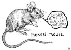 modest mouse is modest