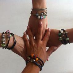 LOVE the Trollbeads leather bracelets! #Trollbeads