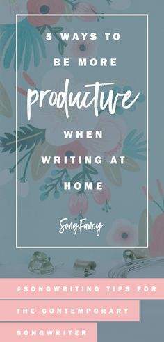 Songwriting tips for how to write your best when you have to stay at home. Here's how to do it in your own writing room. Click through to read!   SongFancy.com