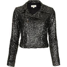 **Disco Sequin Jacket by Goldie