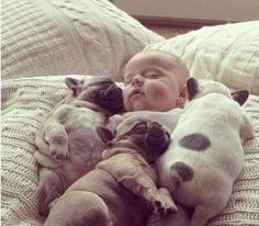 They look like three little piggies!!
