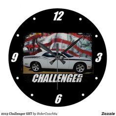 2013 Challenger SXT Large Clock