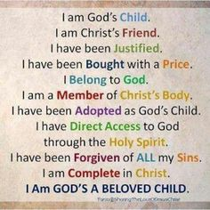 ✟♥ ✞ ♥✟ How should we live our lives in light of our identity in Christ? ✟♥ ✞ ♥✟