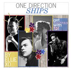 """""""1d ships: be shipped with 1d + a oneshot! read description for more info & form!"""" by elliebonjelly ❤ liked on Polyvore featuring art"""
