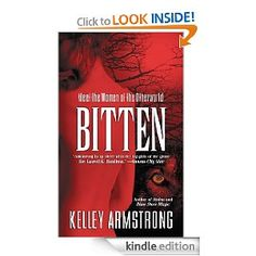 Otherworld Series by Kelley Armstrong - These are great reads.  Different approach to supernats.