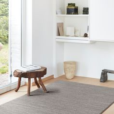Set the tone in any living space with trendy plain rugs. The natural tones adds warmth and texture; the perfect hard wearing, contemporary addition to any floor. Living Spaces, Neutral, Shelves, Flooring, Texture, Contemporary, Rugs, Home Decor, Surface Finish