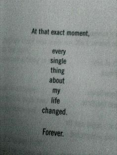 The moment I realized I didn't need you