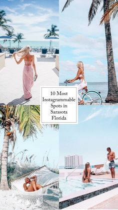 Where to go to take the ultimate instagram pictures in Sarasota Florida Longboat Key, Sarasota Florida, Where To Go, Adventure Travel, Travel Tips, Travel Advice, Adventure Trips
