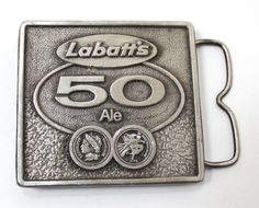 Vintage 1977 Labatt s 50 Ale Beer Belt Buckle Bottle Opener Jimm Watson Ale Beer, Belt Buckles, Bottle Opener, Vintage Items, Store, Ebay, Ale, Belt Buckle, Storage