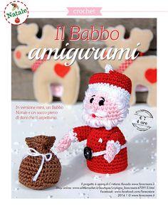Tutorial Amigurumi Babbo Natale Uncinetto : 1000+ images about Babbo Natale on Pinterest Papa noel ...