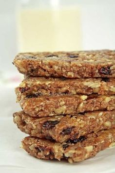 Pastry Recipes, Cookbook Recipes, Sweets Recipes, Easy Desserts, Snack Recipes, Cooking Recipes, Energy Snacks, Energy Bars, Healthy Cookies