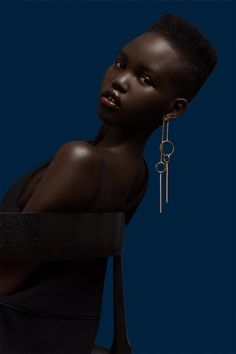 black women models for club flyers Haute Couture Paris, Black Girl Magic, Black Girls, Female Models, Women Models, Afro, Dark Skin Girls, Hair And Makeup Artist, Silhouette