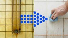 Sprzątanie łazienki – prosty sposób – wystarczy ocet i płyn do mycia naczyń Triangle, Clever