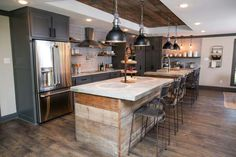 One of my fav JoAnna Gaines kitchens!