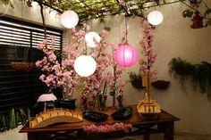Buffet comida japonesa, sushi, sashimi, temaki, tudo para seu evento ou festa. Decoração oriental