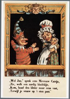 Mr Punch, Judy and the baby