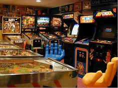 About Arcade Room On Pinterest Arcade Room Game Rooms And Monopoly