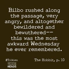 gimme some reads | Hobbit Dictionary Definitions | gimmesomereads.com #TheHobbit #Tolkien