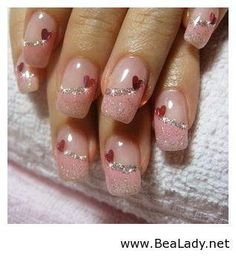 valentine nails | valentine s nails idea 2014 see more about valentine nails nail ideas ...