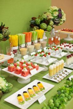Una mesa saludable