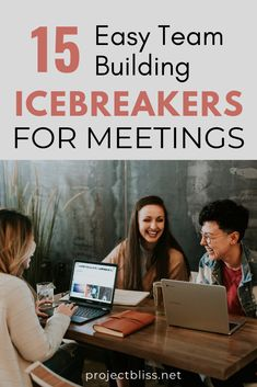 Need to build rapport in meetings fast? These fun and easy icebreakers help your group relax and bond for faster collaboration and creativity. Activities for remote attendees, too! College Icebreakers, Team Building Icebreakers, Fun Icebreakers, Icebreaker Activities, Bonding Activities, Teambuilding Activities, Welcome To The Group, Meet The Team, Meeting Ice Breakers
