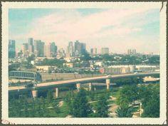 Boston via Logan