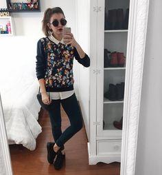 #7lookschallenge 7 looks challenge yasmim fassbinder mistura de estampa yaah_ looks com estampa outfit Work Fashion, 90s Fashion, Fashion Looks, Fashion Outfits, Womens Fashion, Winter Outfits, Casual Outfits, Cute Outfits, Outfits Leggins