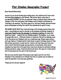 flat stanley letter flat stanley template flat stanley letter to parents 1966