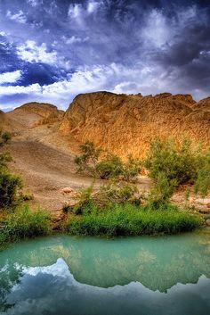 Tunisia mountain oasis.  Photo: AndrejStojs, via Flickr