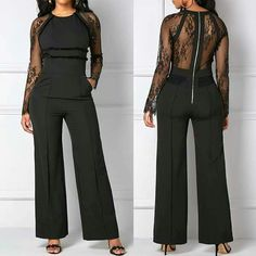 Bottoms For Women Big Girl Fashion, Love Fashion, Plus Size Fashion, Autumn Fashion, Fashion Outfits, Womens Fashion, Fashion Trends, Date Night Fashion, Jumpsuits For Women