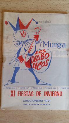 Cancionero Los Diabólicos Año 1971. Carnaval de Santa Cruz de Tenerife