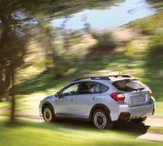 Subaru XV Crosstrek shown in Ice Silver Metallic