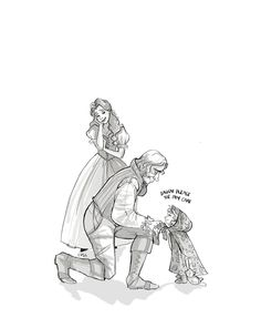 Rumbelle family by snoprincess.deviantart.com on @deviantART <------ AAAAAAAAAAHHHHHHHHHH!!!! I can't handle the cuteness!!!