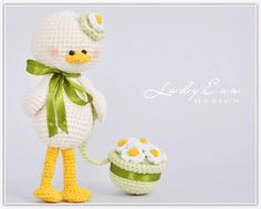 Amigurumi Duck - FREE Crochet Pattern / Tutorial | Tiny Mini Design