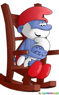 The tattoo that I am getting in the next couple of weeks. It's in memory of my Dad, a trucker who went by the name Papa Smurf, and the babies I have miscarried. (8 in 6 years)