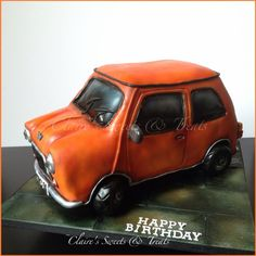 Mini is my favourite car and I love this cake Cakes Cake
