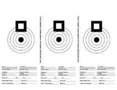 Ssaa printable targets