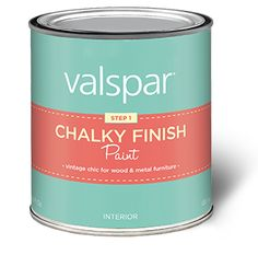 Valspar Chalk Finish Paint Review - Painted Mason Jars & Sign - Knick of Time at KnickofTime.net