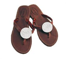 Aspiga White Disc Sandals This Disc sandal is a leather flip flop, on a rubber flat sole, with a small disc of hand sewn beads. http://www.comparestoreprices.co.uk/womens-shoes/aspiga-white-disc-sandals.asp