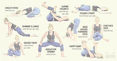 9 Easy Stretches to Release Lower Back and Hip Pain : The Hearty Soul