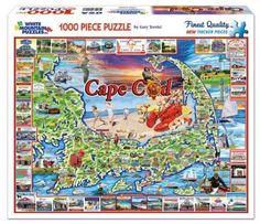 White Mountain Puzzles Cape Cod - 1000 Piece Jigsaw Puzzle #WhiteMountain