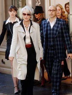 Villain: Miranda Priestly (Meryl Streep) in The Devil Wears Prada