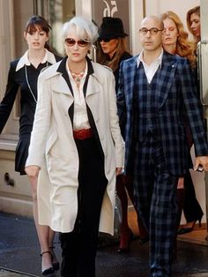Villain: Miranda Priestly (Meryl Streep) in The Devil Wears Prada