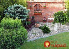 21+ skvelých nápadov do záhrady za lacný peniaz: Toto vykúzlite z kamienkov, zelene a starých kvetináčov! Design Jardin, Patio, Outdoor Decor, Raj, Plants, Important, Gardens, Brick Yard, Concrete Garden