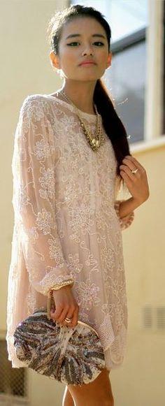 <3 Lovely Lace Dress~