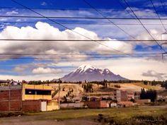 Disfrutando de los hermosos paisajes de la serrania Ecuatoriana...!!!