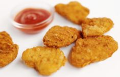 How to Cook Uncooked Breaded Chicken Nuggets Fried Chicken Nuggets, Baked Chicken Strips, Oven Baked Chicken, Baked Chicken Breast, Breaded Chicken, Fast Food, Healthy Baking, Quick Easy Meals, Kids Meals