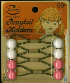 Pony tail, chickie tails and braid holders