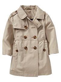 Gap Kids Girls' Trench Coat